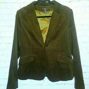 H&M Corduroy women's size 14 blazer